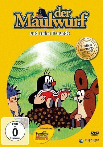 DVD »Der Maulwurf und seine Freunde«