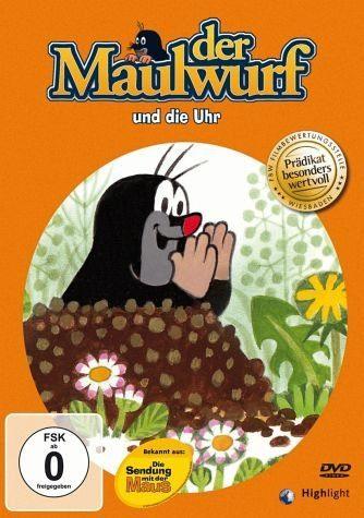 DVD »Der Maulwurf und die Uhr«