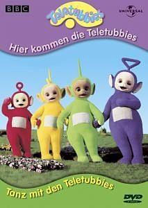 DVD »Teletubbies - Hier kommen die Teletubbies /...«