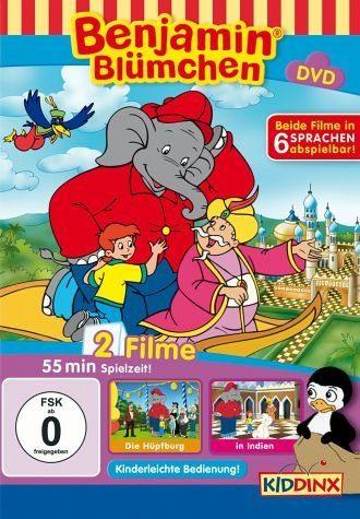DVD »Benjamin Blümchen - Die Hüpfburg / in Indien«