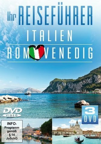 DVD »Ihr Reiseführer - Italien: Rom, Venedig (3 Discs)«