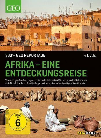 DVD »360° - GEO Reportage: Afrika - Eine...«