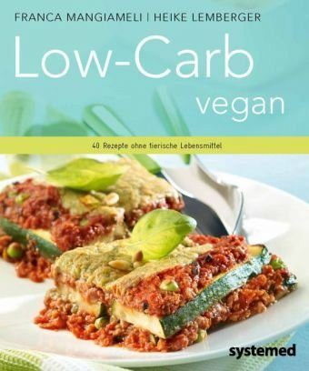 Broschiertes Buch »Low-Carb vegan.«