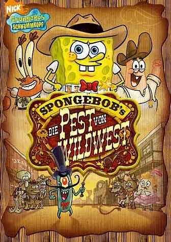 DVD »SpongeBob Schwammkopf - Die Pest von Wildwest«