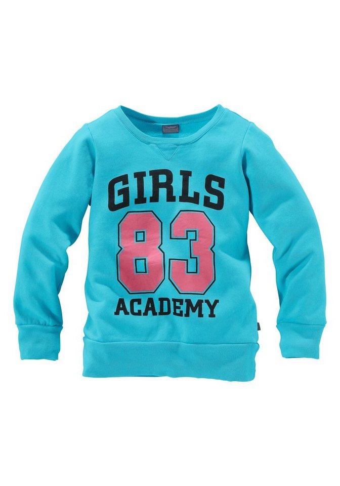 Arizona Sweatshirt für Mädchen in türkis