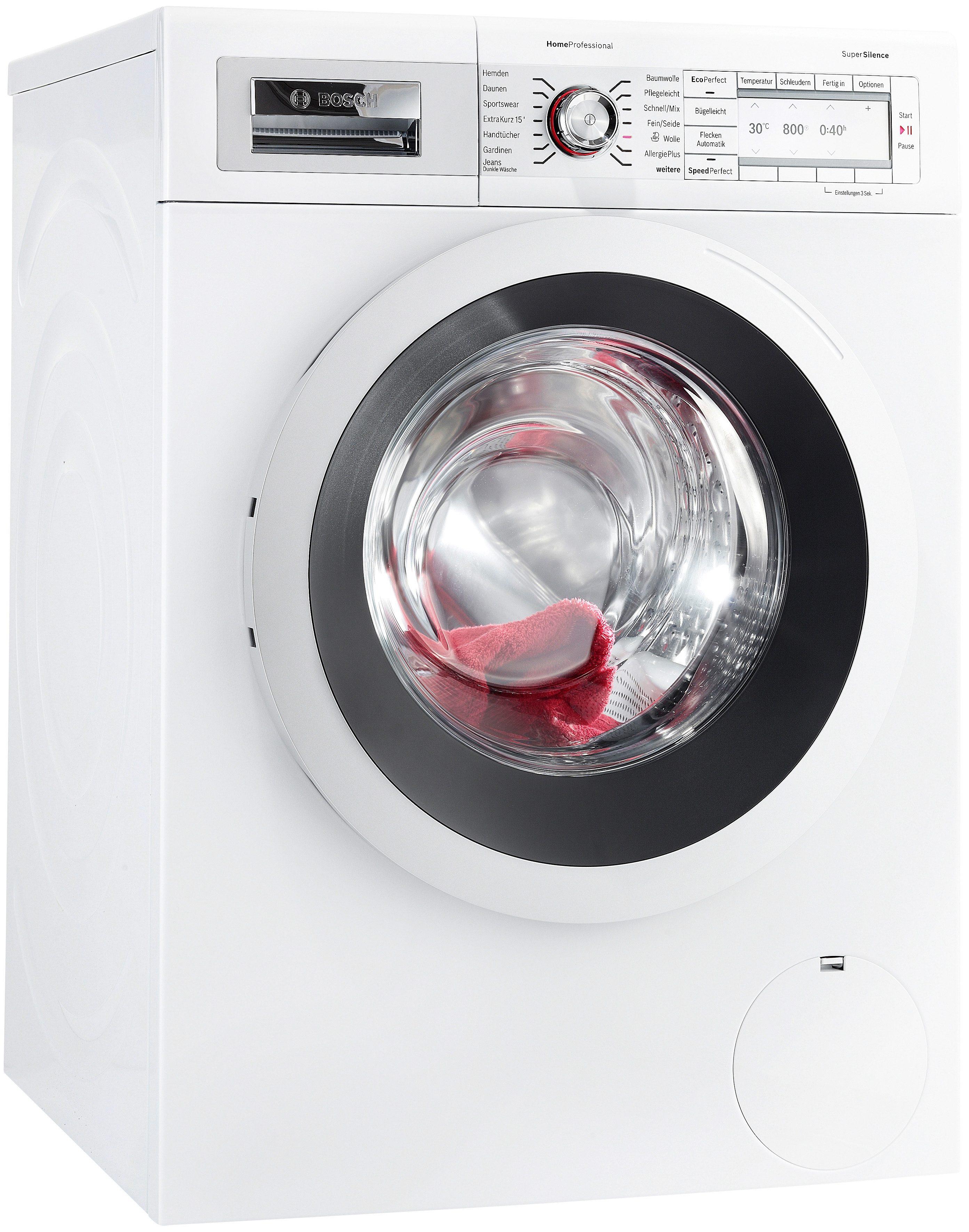 BOSCH Waschmaschine WAY2874D, A+++, 8 kg, 1400 U/Min