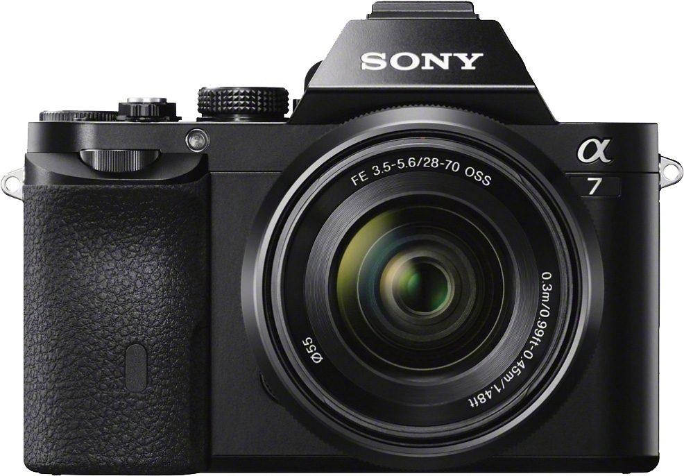 Sony Alpha ILCE-7K System Kamera, SEL-2870 Zoom, 24,3 Megapixel, 7,5 cm (19,1 Zoll) Display