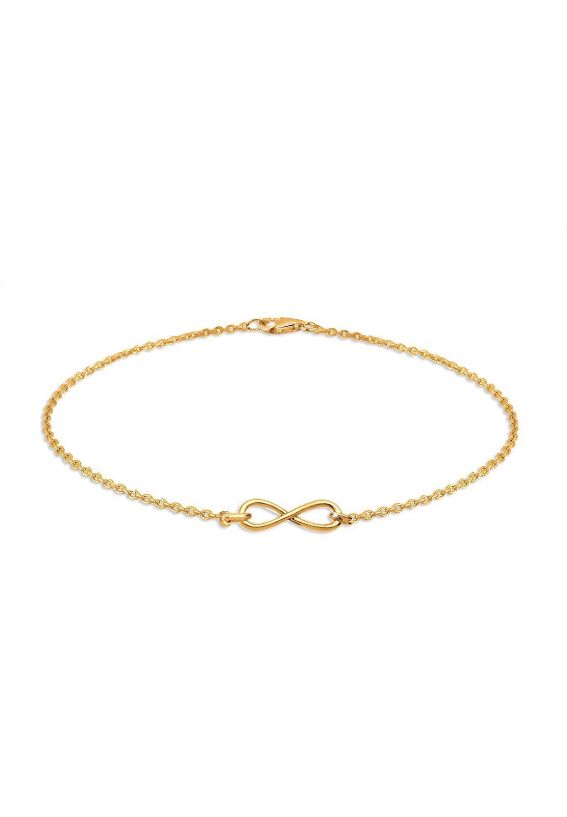 GOLDHIMMEL Armband »Infinity vergoldet«