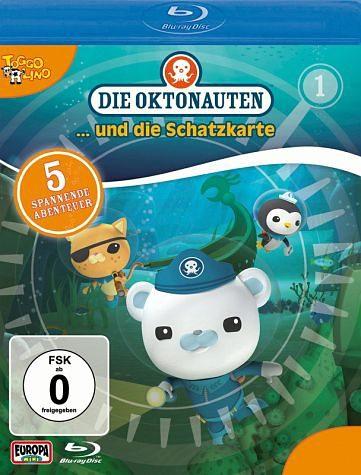Blu-ray »Die Oktonauten... und die Schatzkarte«