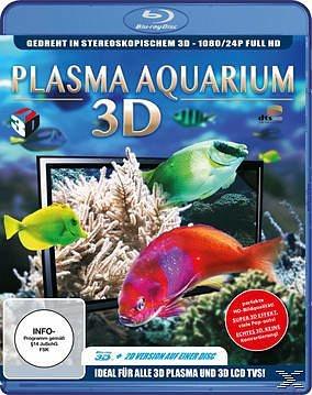 Blu-ray »Plasma Aquarium 3D (Blu-ray 3D)«