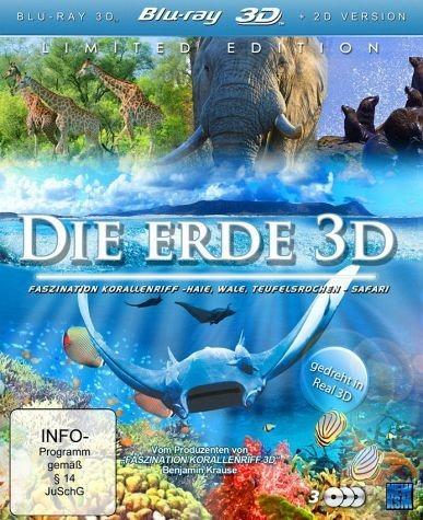 Blu-ray »Die Erde (3 Discs, Blu-ray 3D)«