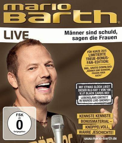 Blu-ray »Mario Barth - Männer sind schuld, sagen die...«