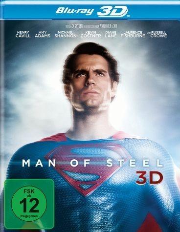 Blu-ray »Man of Steel 3D, 2 Blu-rays + Digital Copy«