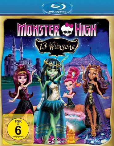 Blu-ray »Monster High - 13 Wünsche«
