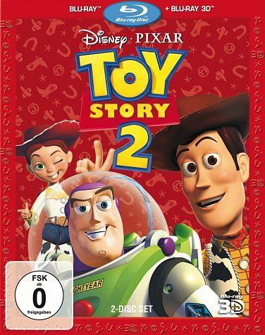 Blu-ray »Toy Story 2 (Blu-ray 3D, + Blu-ray 2D)«