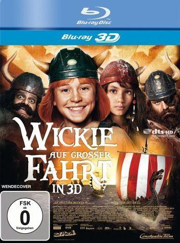 Blu-ray »Wickie auf großer Fahrt (Blu-ray 3D)«