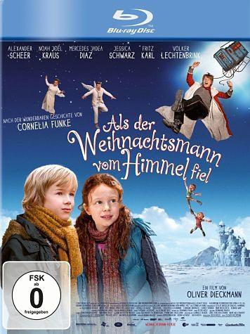 Blu-ray »Als der Weihnachtsmann vom Himmel fiel«
