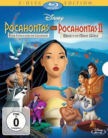Blu-ray »Pocahontas / Pocahontas 2 - Reise in eine neue...«