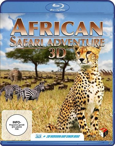 Blu-ray »African Safari Adventure (Blu-ray 3D)«