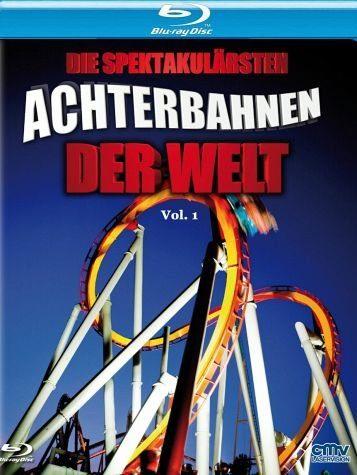 Blu-ray »Die spektakulärsten Achterbahnen der Welt, Vol. 1«