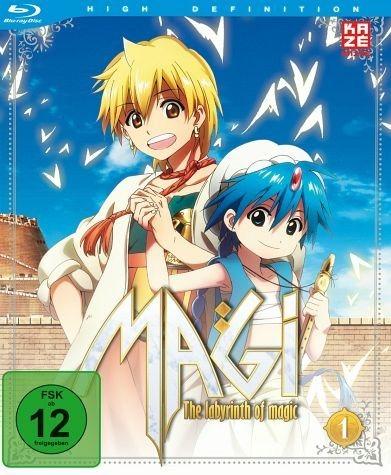 Blu-ray »Magi: The Labyrinth of Magic, Box 1 (2 Discs)«