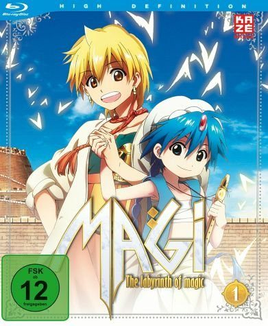 Blu-ray »Magi: The Labyrinth of Magic, Box 1 (2 Discs)«