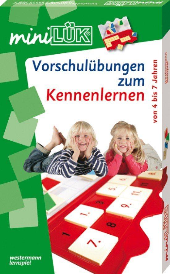 LÜK mini Set: Vorschulübungen zum Kennenlernen
