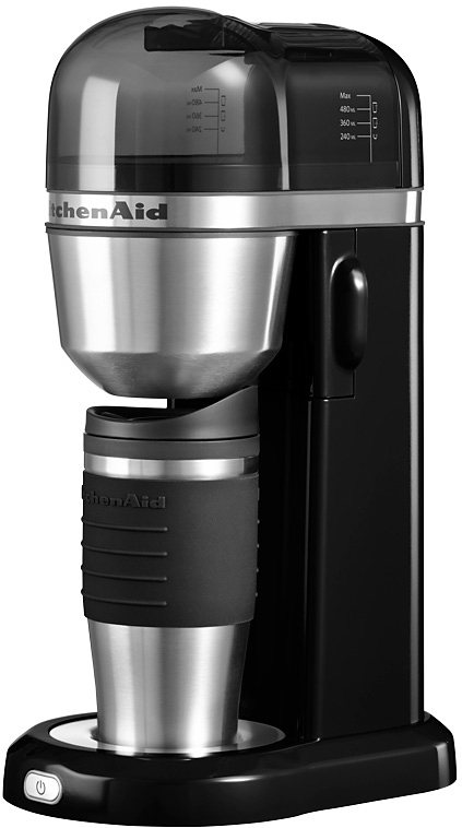 KitchenAid® Kaffeemaschine 5KCM0402EOB, onyx schwarz in onyx schwarz