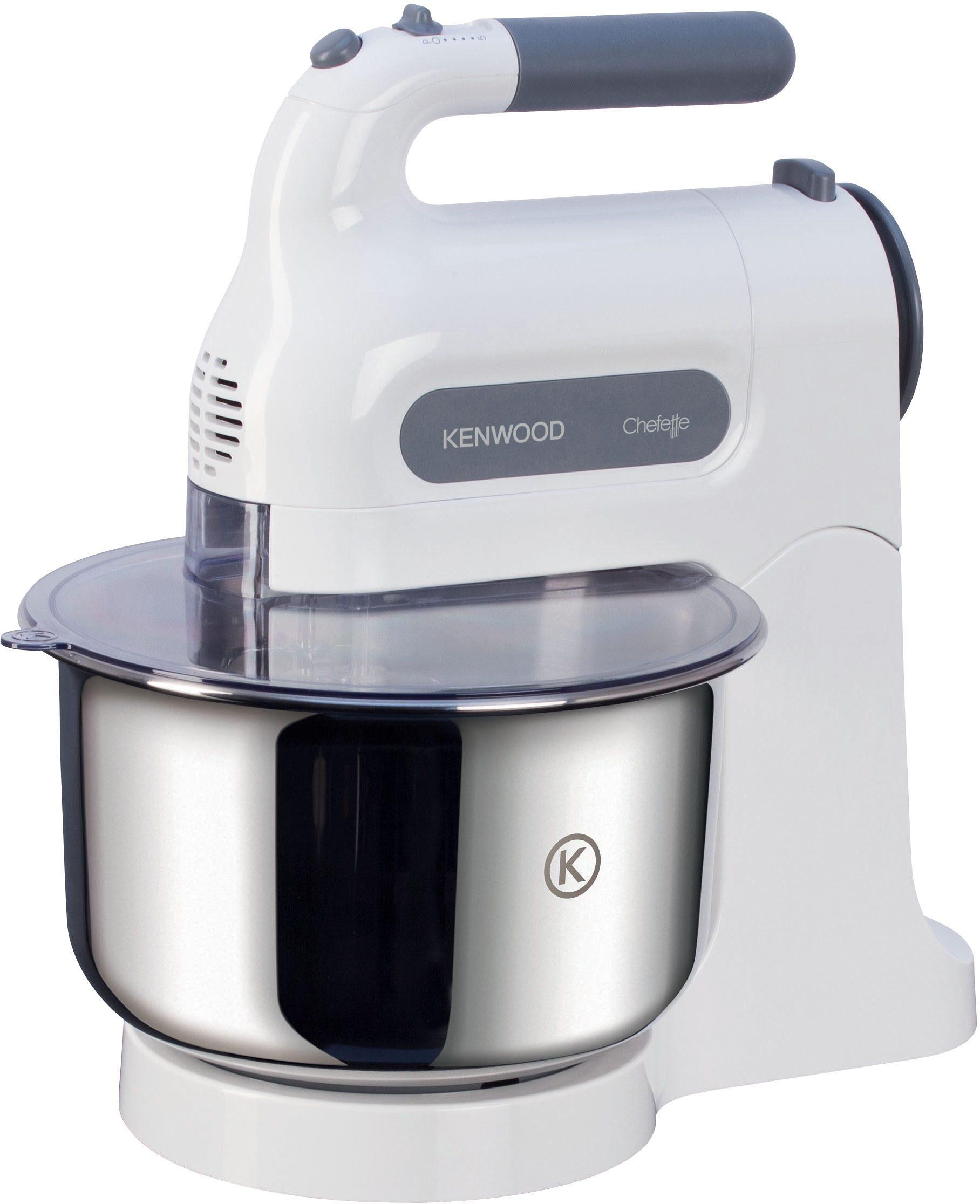 Kenwood Handmixer »HM680 Chefette«, 350 Watt, 5 Stufen, weiß