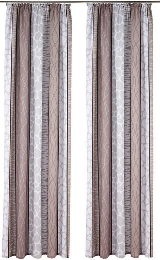 Vorhang »Gosen«, my home, Kräuselband (2 Stück)