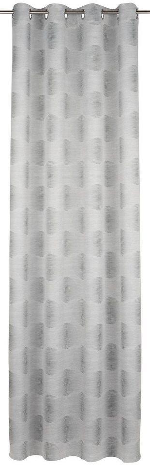 Vorhang, my home, »Tremino«, mit Ösen (1 Stück) in kitt