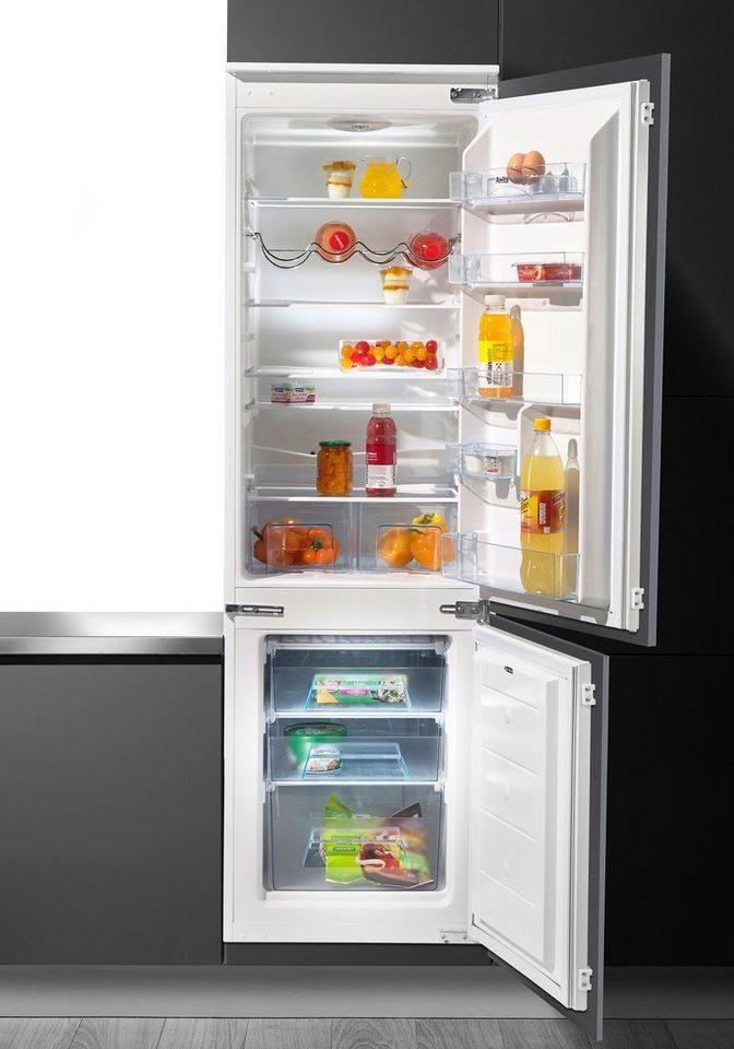 Kühlschrank Einbau amica einbaukühlgefrierkombination ekgc 16177 177 6 cm hoch 54 5