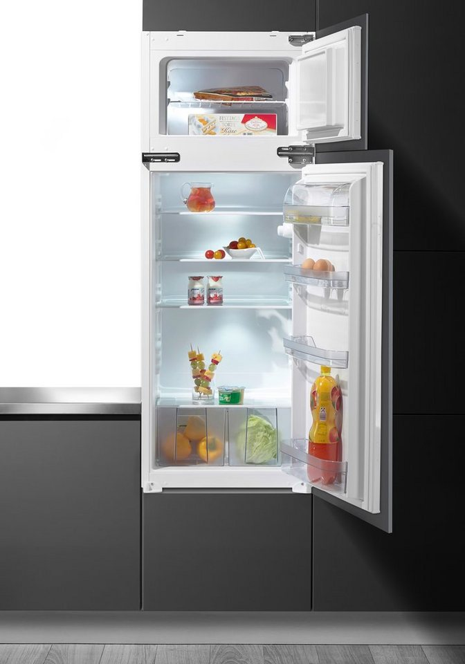 Vestfrost Einbaukühlschrank VKSE 102610 SA++ G, A++, 144,5 cm hoch in weiß
