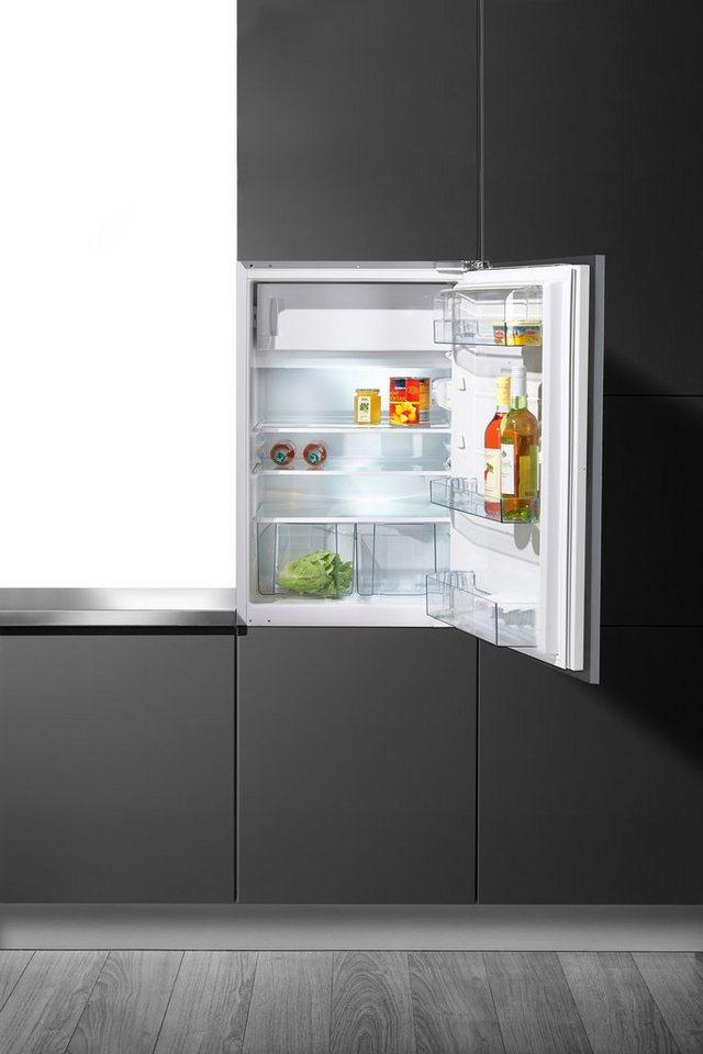 Gorenje integrierfähiger Einbaukühlschrank RBI 4093 AW, A+++, 87,5 cm hoch in weiß