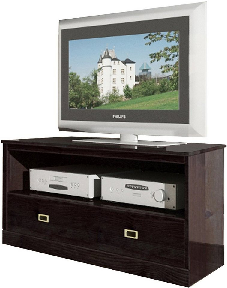 tv lowboard home affaire breite 120 cm kaufen otto. Black Bedroom Furniture Sets. Home Design Ideas