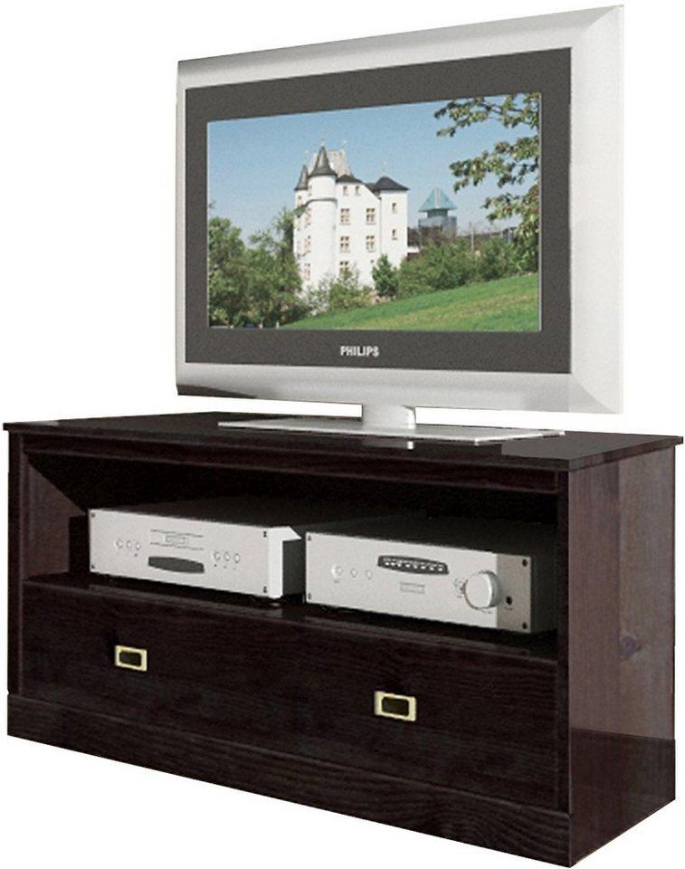 TV-Lowboard, Home affaire, Breite 120 cm in kolonialfarben