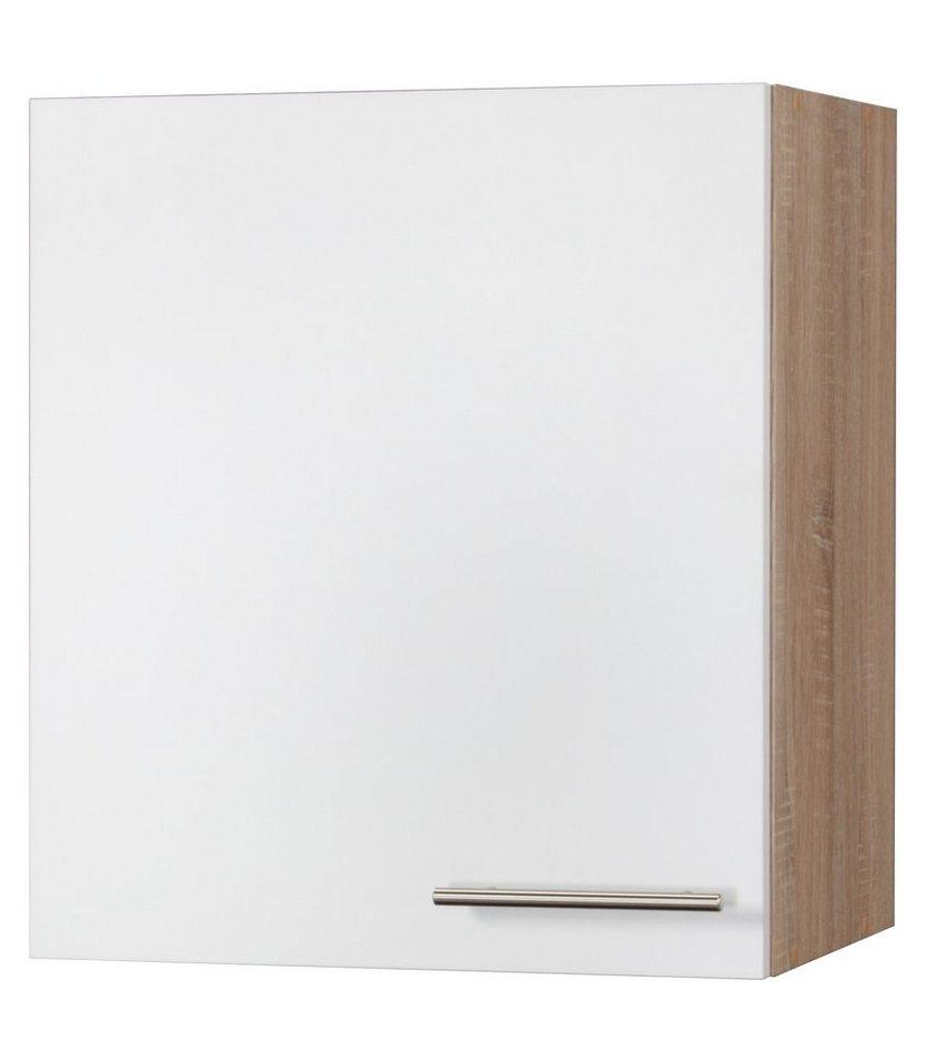 Küchenhängeschrank »Montana«, Breite 50 cm in eichefarben/weiß x weiß