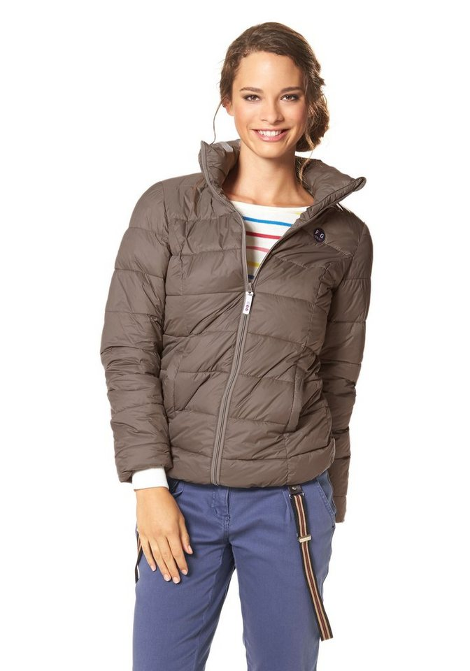 Flashlights Steppjacke in taupe