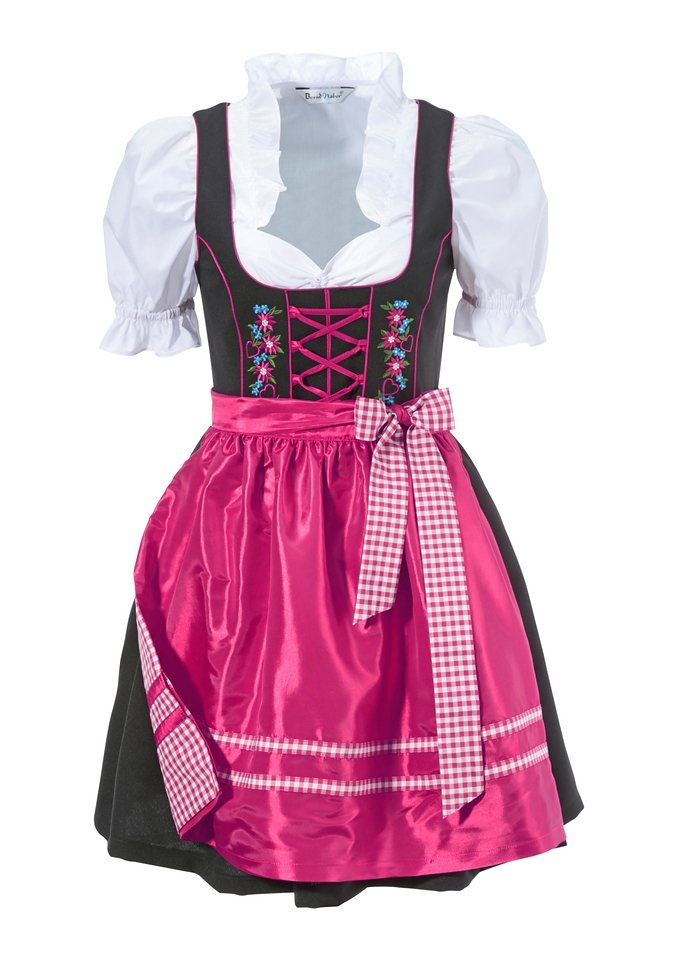 dirndl 3tlg online kaufen otto. Black Bedroom Furniture Sets. Home Design Ideas