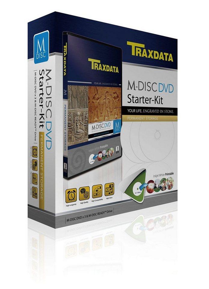 TRAXDATA Langzeitarchivierung »M-DISC DVD STARTER KIT«