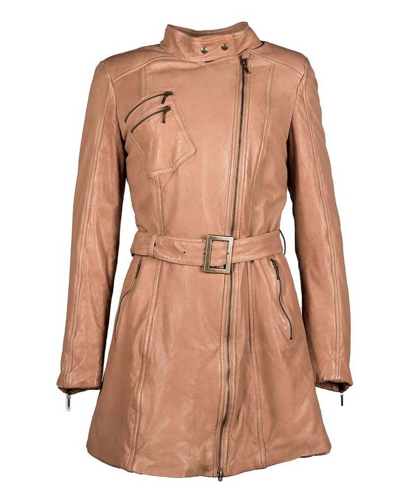 JCC Ledermantel, Damen »LM/69/2/Y« in camel