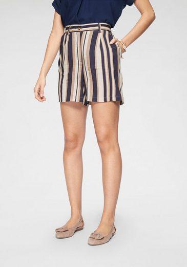 Tamaris Shorts mit Streifen