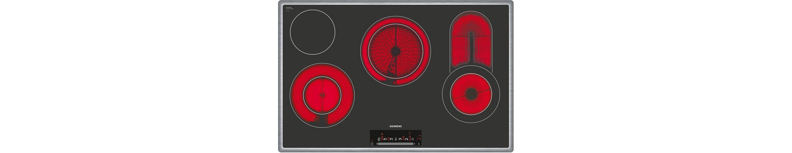 Siemens Glaskeramik-Kochfeld von Schott Ceran® ET845FC17, 78 cm breit