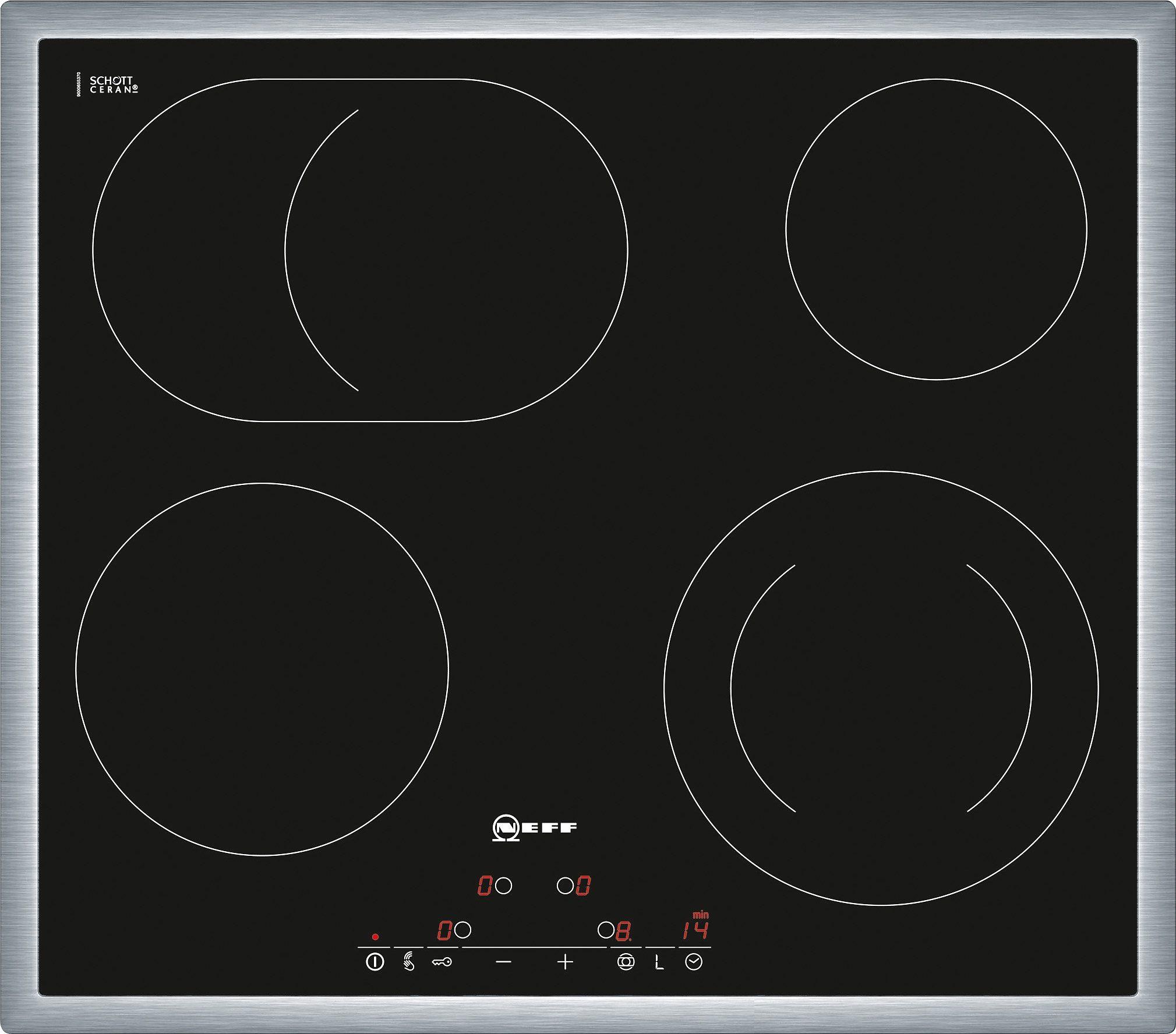 Neff Autarkes Elektro-Kochfeld mit integrierten Kochstellenreglern TD 1342 N