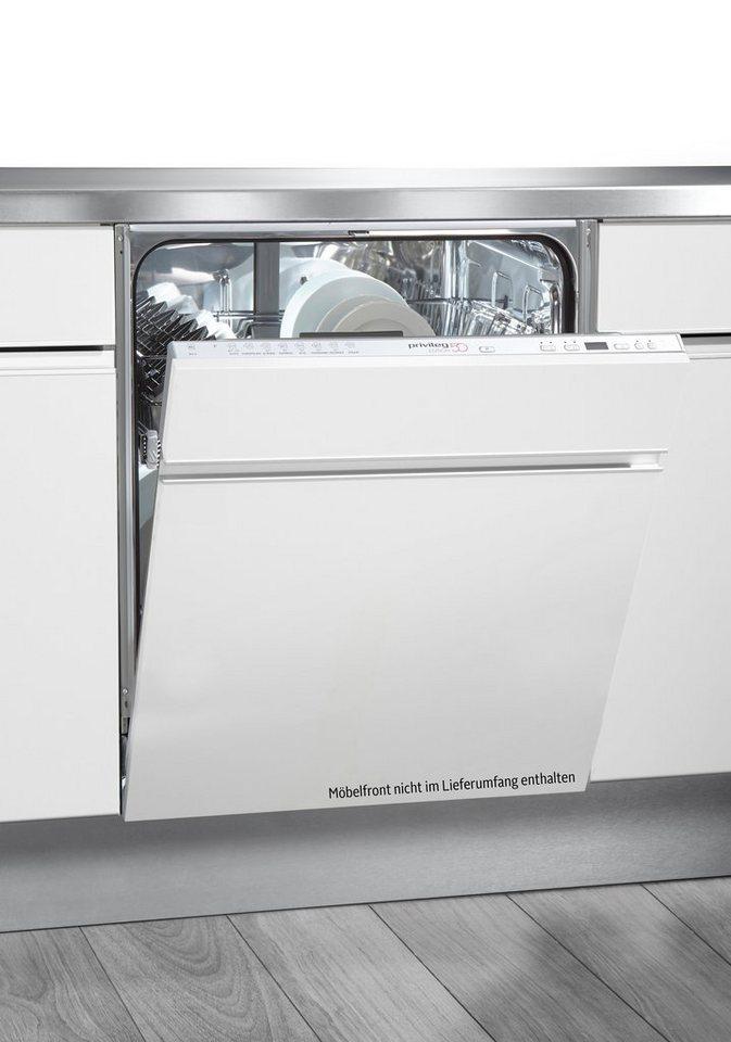 Privileg Vollintegrierbar Einbau Geschirrspüler PDSX Edition 50, A++, 6  Liter, 13 Maßgedecke