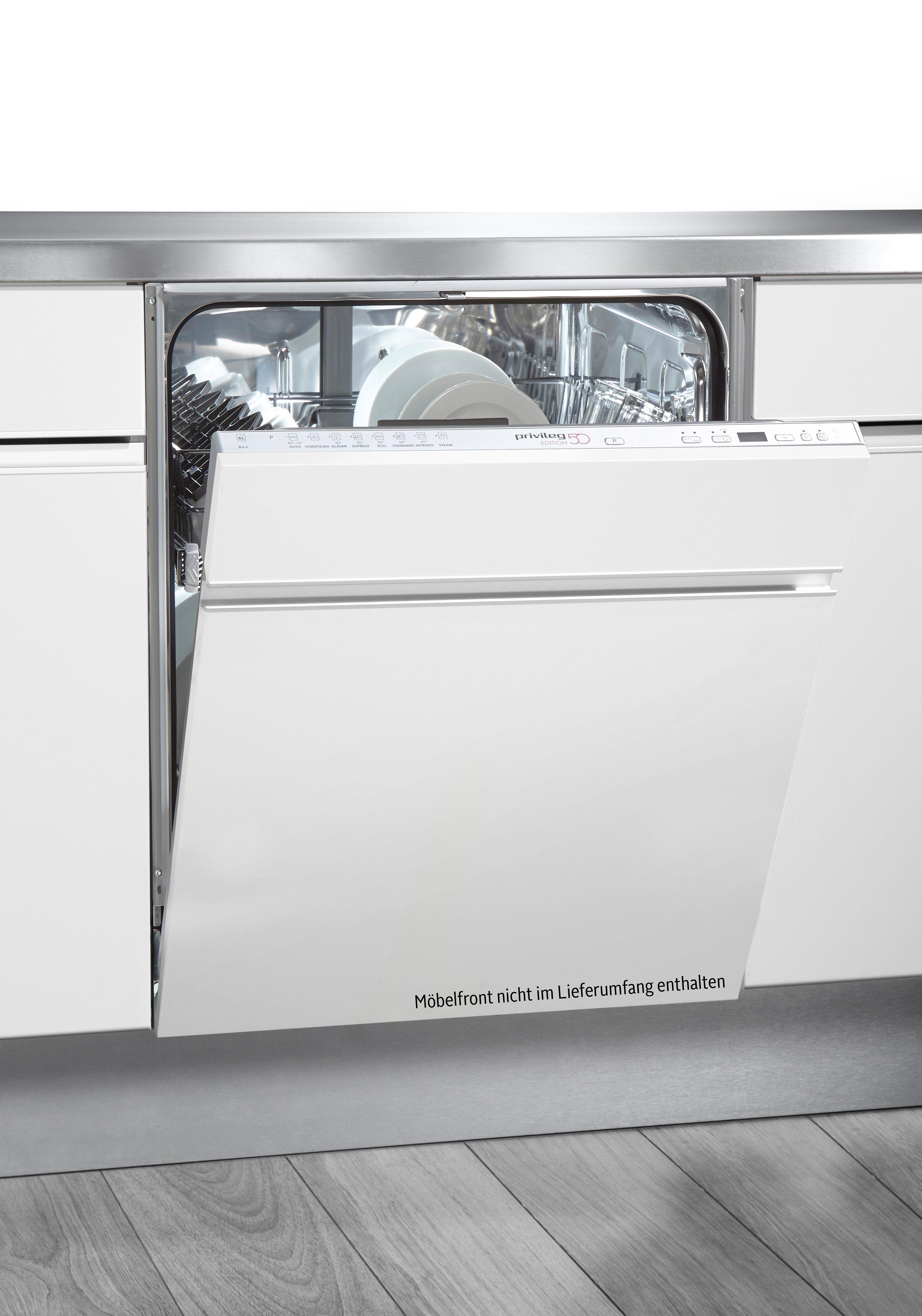 Privileg Vollintegrierbar Einbau-Geschirrspüler PDSX Edition 50, A++, 6 Liter, 13 Maßgedecke