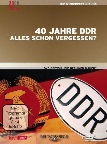 DVD »Die Berliner Mauer - 40 Jahre DDR: Alles schon...«