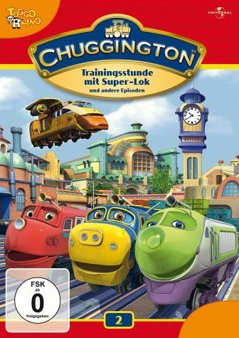 DVD »Chuggington 02 - Trainingsstunde mit Super-Lok...«