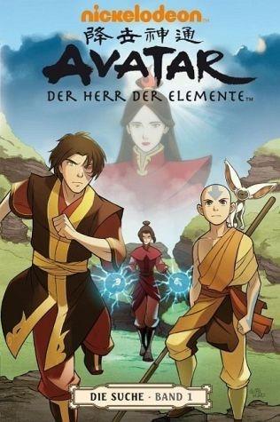 Broschiertes Buch »Die Suche 1 / Avatar - Der Herr der Elemente Bd.5«