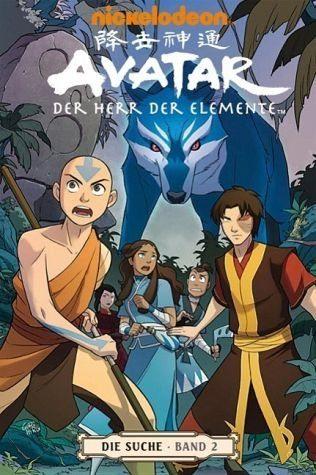 Broschiertes Buch »Die Suche 2 / Avatar - Der Herr der Elemente Bd.6«